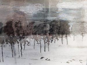Schets bomen
